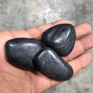 Black Polished Pebbles 20kg