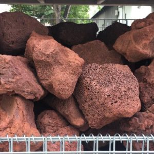 Red Lava Rock 20kg